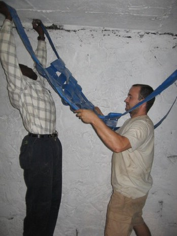 nests being fixed in night facility.jpg