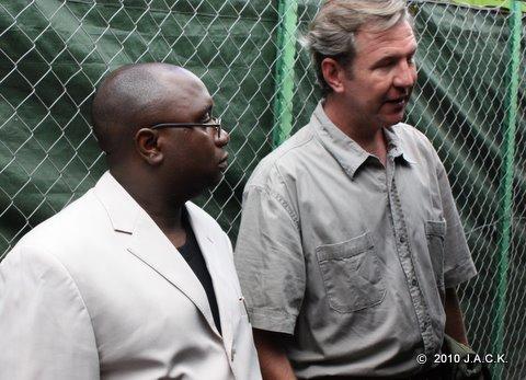 Franck & Provincial Minister Dr Felix