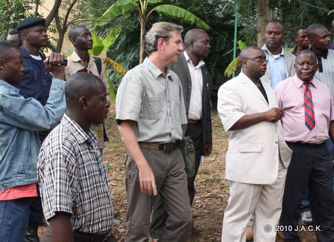 Visit of Provincial Minister of Environment