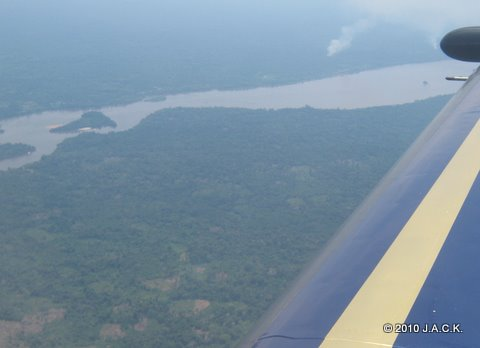 October 4th - flying to Kisangani