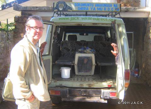 Franck bringing Lynn home